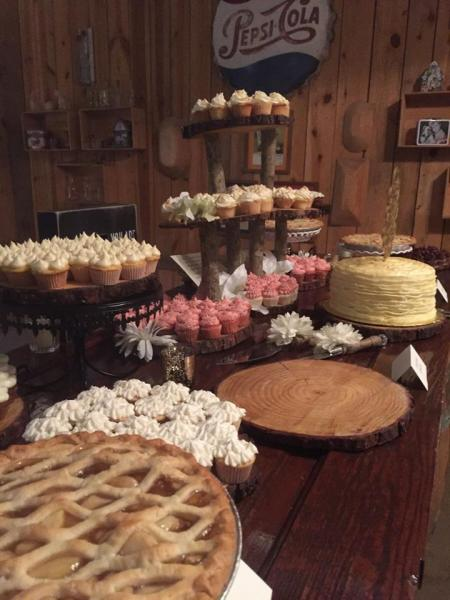 [Image: Cook Shack Catering have menus to satisfy any budget including pies, brownies, cakes, pudding, smores dessert bar and more!]