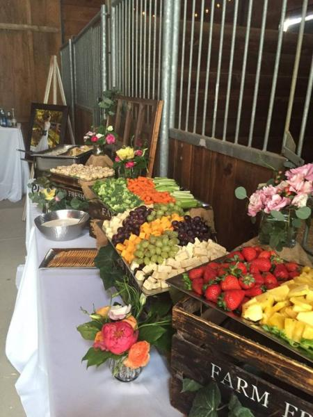 [Image: Does some of your guests have allergies or other food concerns? Our staff will take this in to consideration and help you plan an extraordinary buffet for your wedding!]