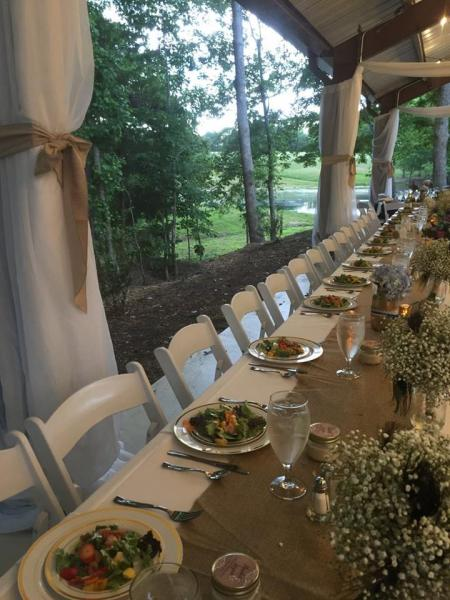 [Image: Our staff will help you design an extraordinary menu to make your wedding reception unique.]